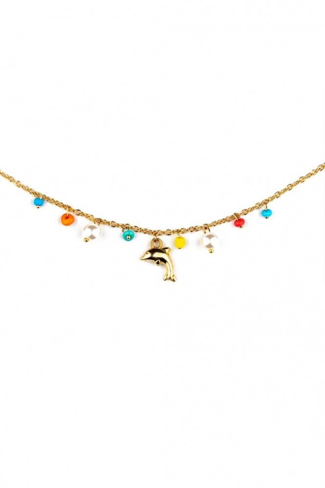 J Florence London Dolphin necklace