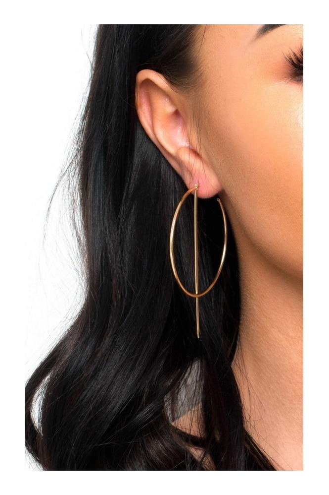 IKRUSH Aoife Statement Hoop Earrings