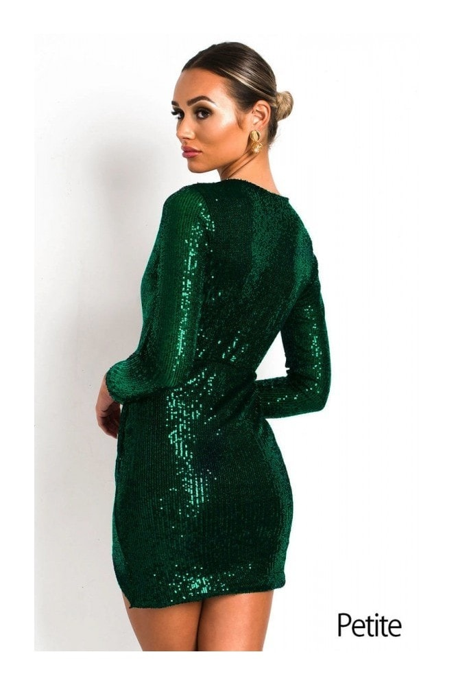 IKRUSH Case Sequin Embellished Dress