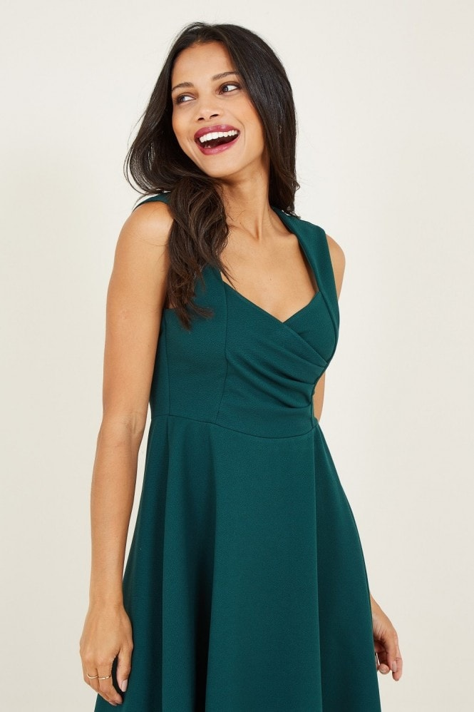 MELA Sweetheart Skater Dress