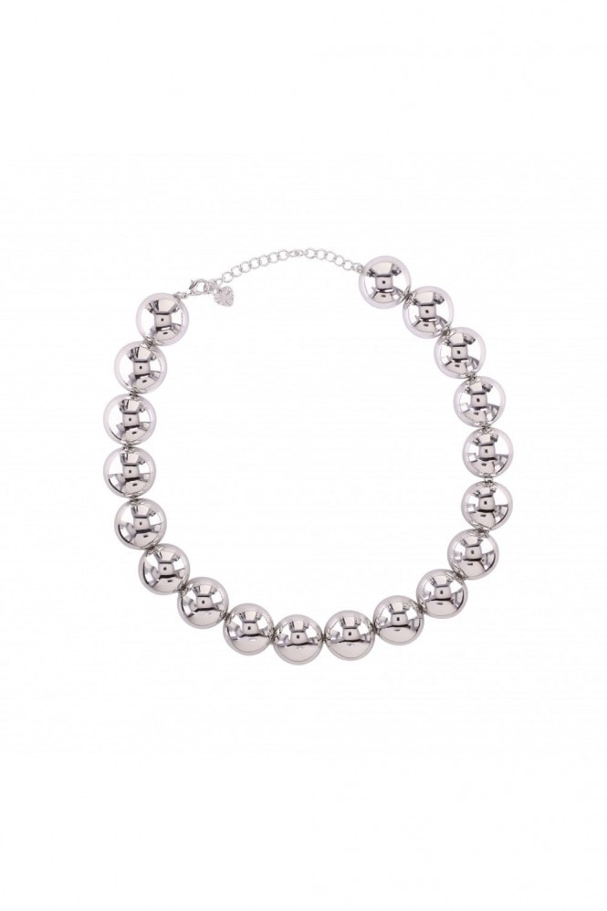LOVEROCKS LINKED DOMES COLLAR