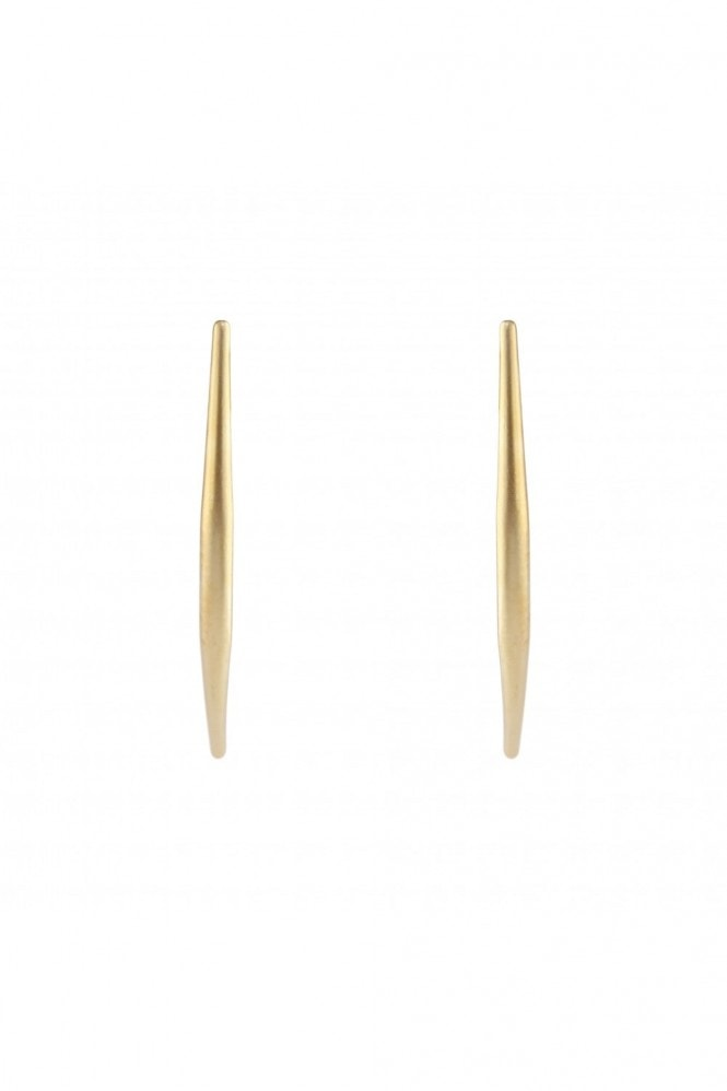LOVEROCKS CURVED STICK EARRING