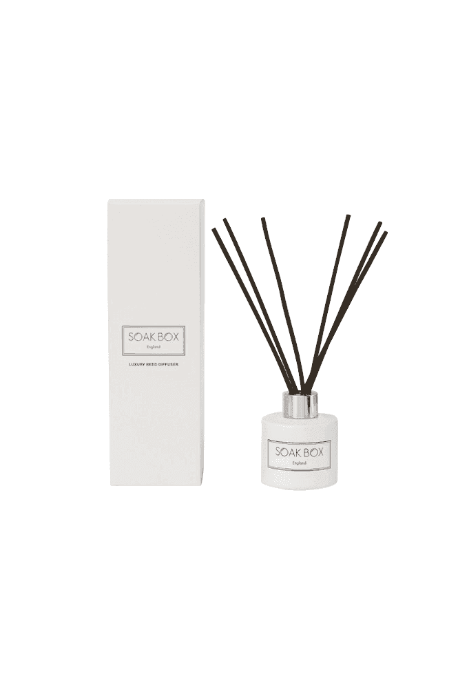 Soak Box England Geranium, Grapefruit & Patchouli, Luxury Reed Diffuser
