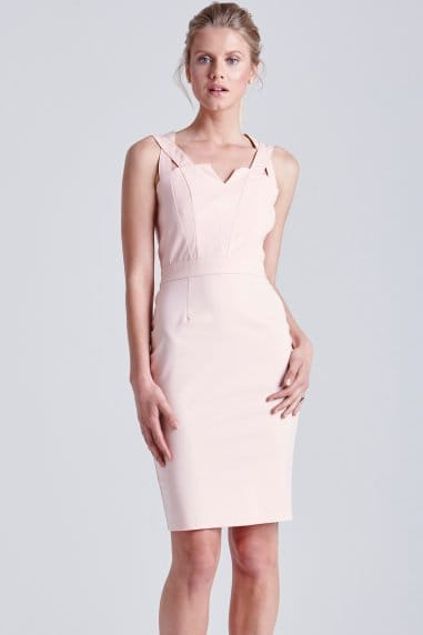 Blush Top Cut Out Dress