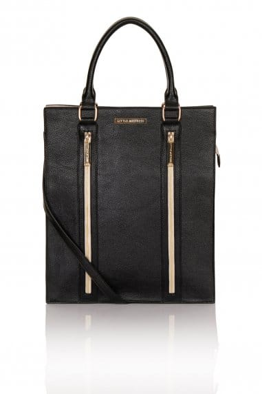Black, Nude and Gold Shopper Bag