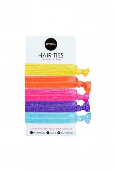 Hey! Holla No Kinky Stuff! Hair Ties
