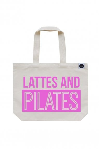 Hey! Holla Lattes and Pilates Gym Bag