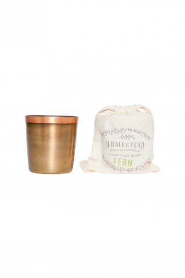 Found Goods Market Cup and Cotton bag in Fern