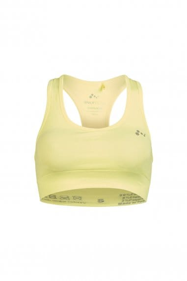 ONLY Play Yellow Suko Seamless Training Bra