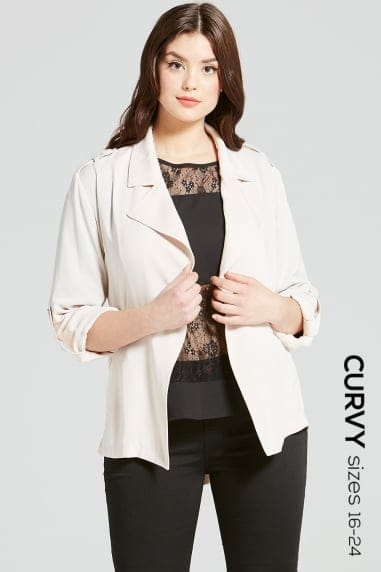 Beige Crossover Jacket