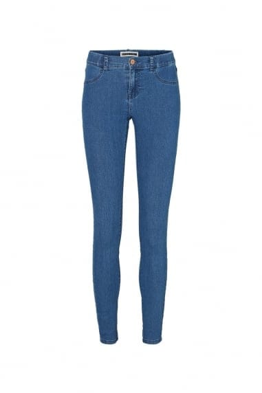 Noisy May Dark Blue Jeggings
