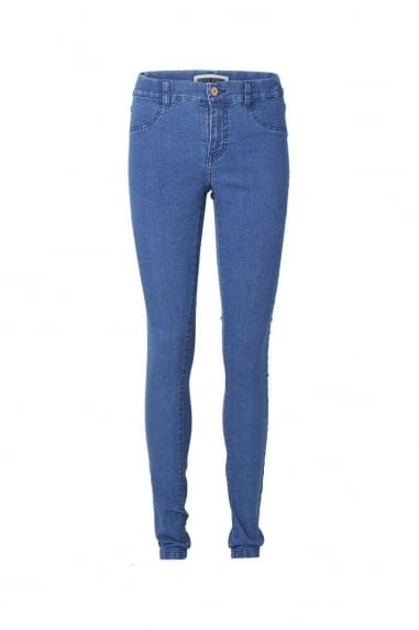 Noisy May Medium Blue Jeggings