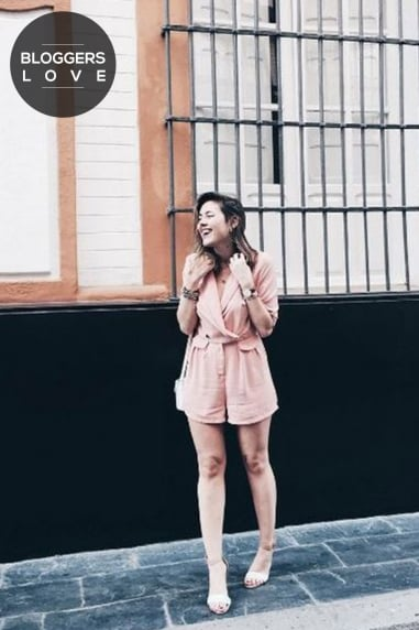 Nude Cross Over Playsuit