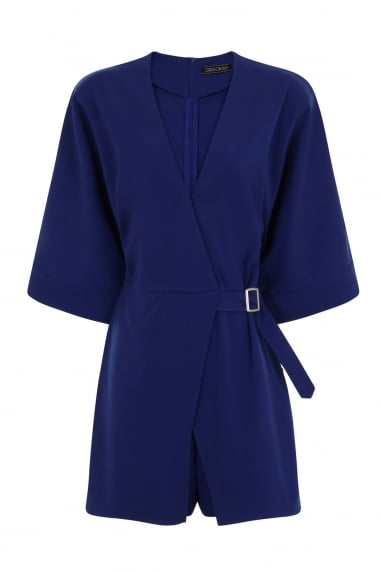 Cobalt Cross Over Playsuit
