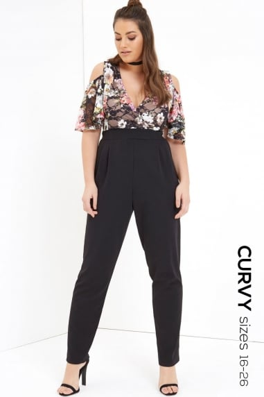 Print Top Jumpsuit
