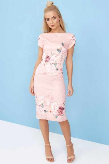 Pinked Bodycon Dress