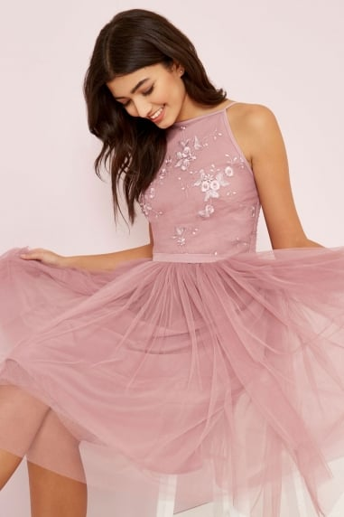 Embroidery Mesh Prom