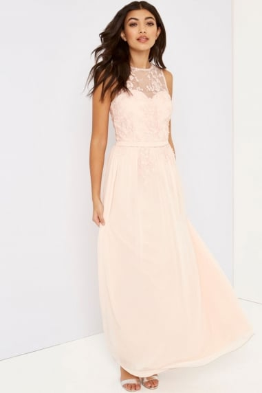 Pink Applique Maxi