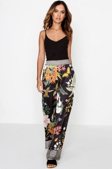Tropical Floral Trousers