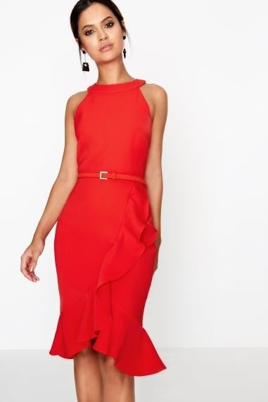 Tomato Bodycon Dress