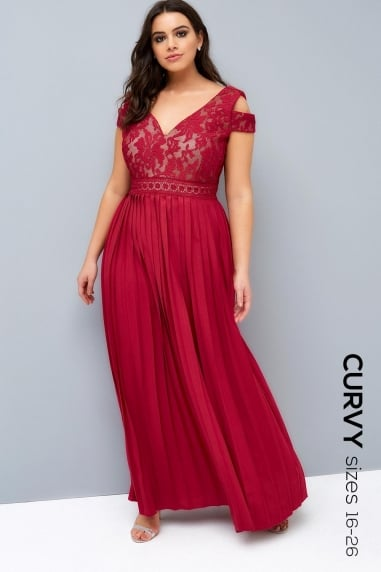 Berry Maxi Dress