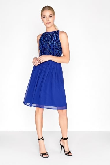 Cobalt Prom Dress