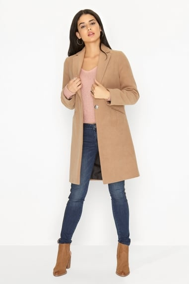26feeee88c Outlet Girls On Film Camel Coat