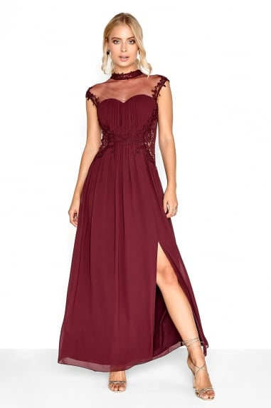 Merlot Applique Maxi