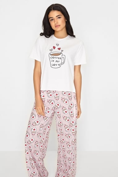 Coffee PJ Set