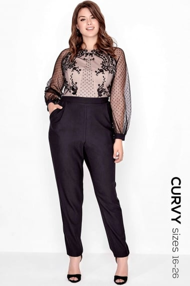 Black Spot Jumpsuit