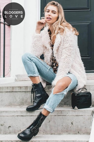 Cream Fur Coat