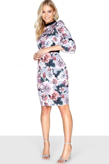 Dusky Floral Dress