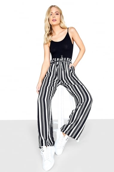 Mono Stripe Trouser