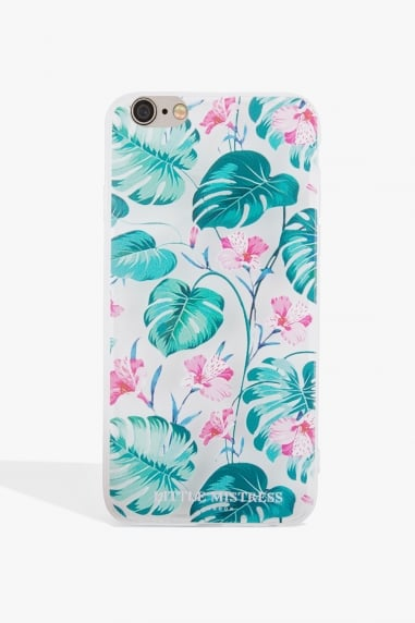 Leaf Print Case Iphone 7
