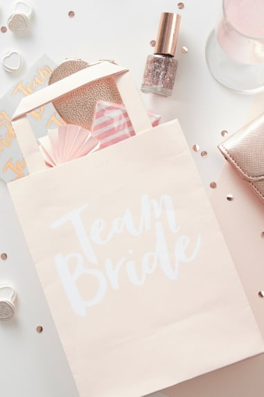 'Team Bride' Party Bags
