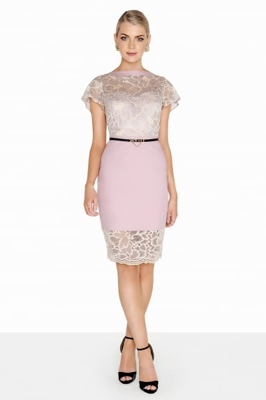 Mink Lace Dress