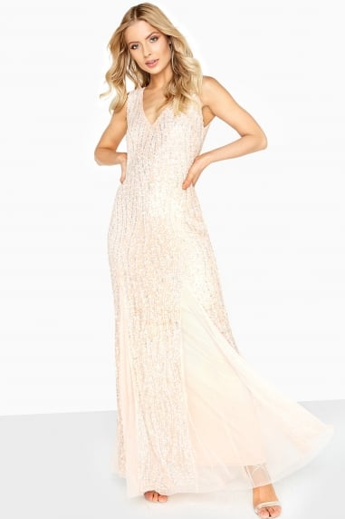 Nude Sheath Maxi