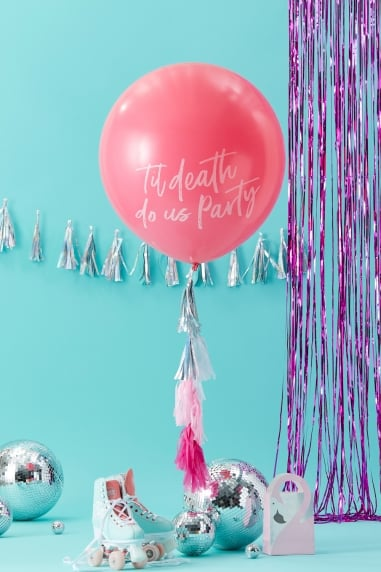 Balloon Kit with Pink Tassels