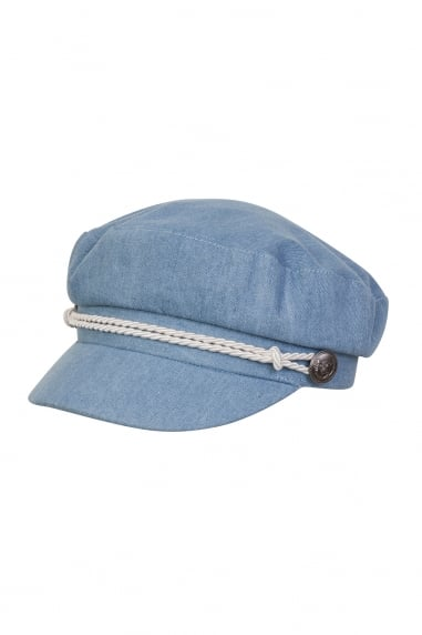 Denim Baker Hat