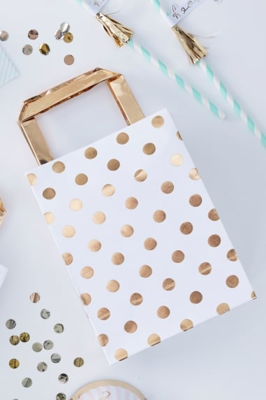 Gold Spot Party Bags