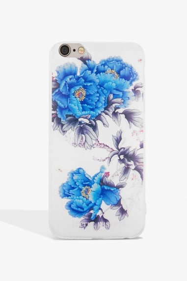 Blue Flower Case Iphone 6