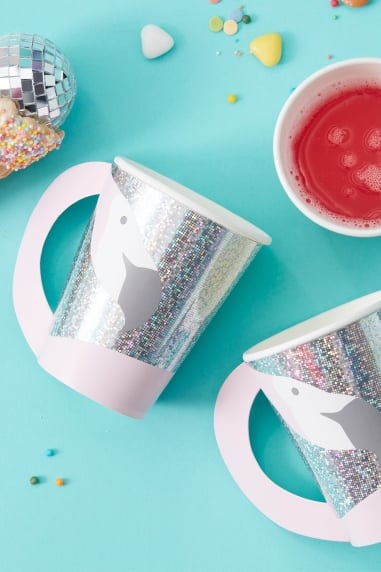 Flamingo Shaped Cups