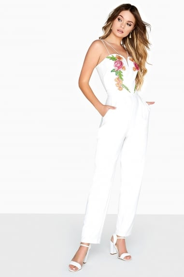 Florence Embroidered Jumpsuit