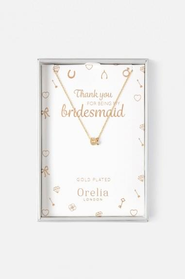 Orelia Bridesmaid Necklace