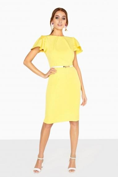 Grenoble Pleat Neck Dress