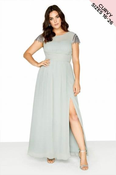 Waterlily Maxi Dress
