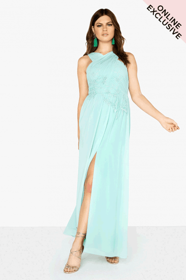 Spearmint Trim Maxi