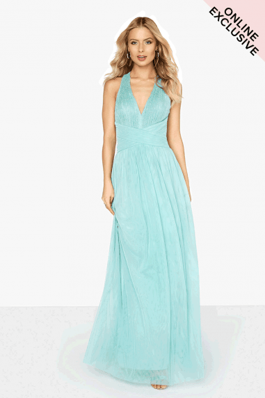 Spearmint Lace Maxi