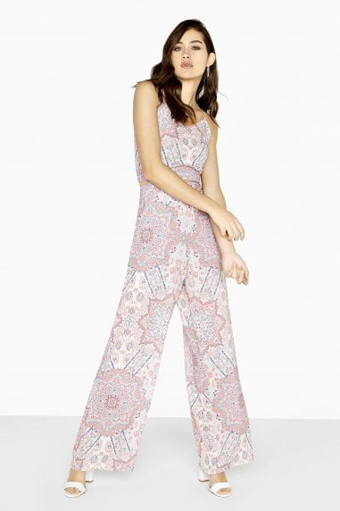 Florence Paisley Palazzo Trousers