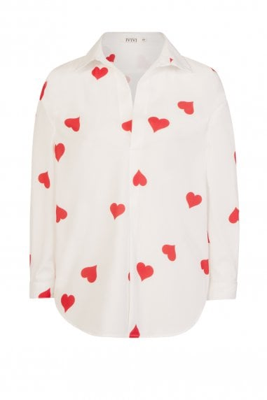 Forever Shirt With Hearts